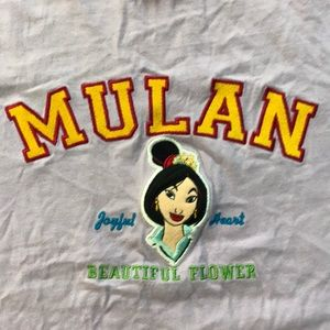 Disney Mulan T-shirt. Perfect condition.